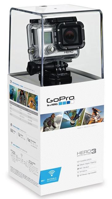 Caméra GoPro HERO 3 White Edition