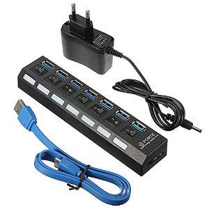 Hub USB 3.0 alimenté - 7 ports