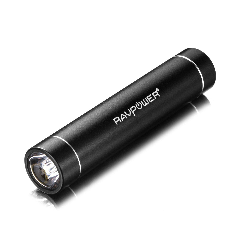 Batterie externe avec lampe de poche intégrée RAVPower 3200mAh