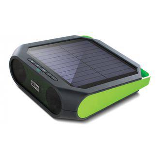 Enceinte Bluetooth à énergie solaire Soulra Rugged Rukus Vert - Tout terrain IPX4
