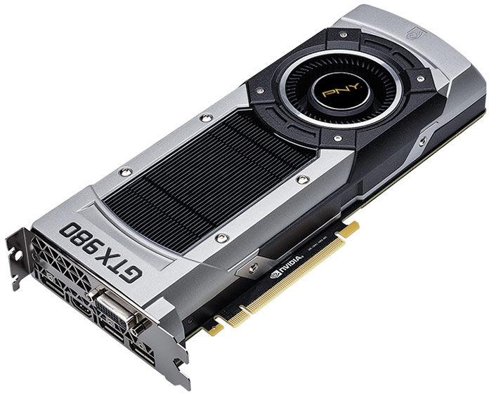 Carte graphique PNY GeForce GTX 980 4 Go + 100€ en bons d'achats