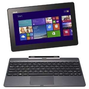 "Tablette PC 10"" Asus T100TA-DK066H Transformer Book (Intel Atom, 2 Go de RAM, SSD 32 Go, HDD 500 Go, Windows 8.1, Microsoft Office Famille & Etudiant)"