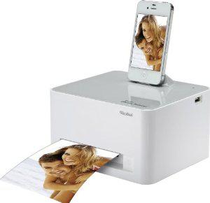 Imprimante photo Rollei Printer blanche pour smartphones/tablettes