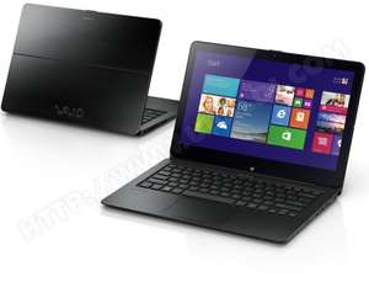 """PC portable 11.6"""" Sony Vaio Tactile Transformable Céléron N2920 4Go 128 SSD"""