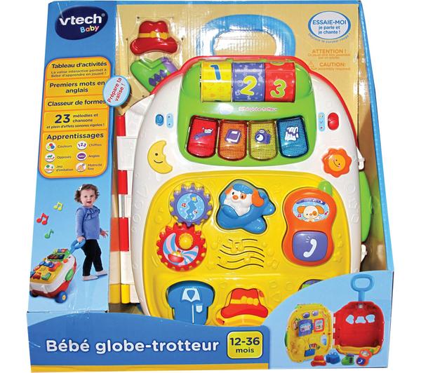 Valise d'activités Vtech - Bébé Globe Trotteur -