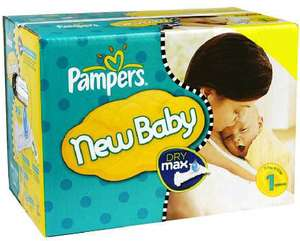 Maxi Giga Pack 280 couches Pampers New Baby
