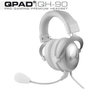 Casque Gaming QPAD QH-90 Blanc