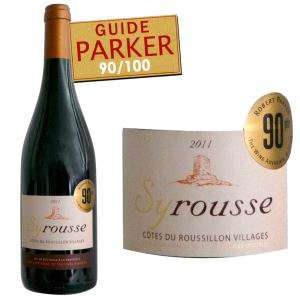 Vin Rouge Syrousse Côtes du Roussillon Villages 2011 75 cl
