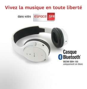 Casque Bluetooth Beewii BBH 100