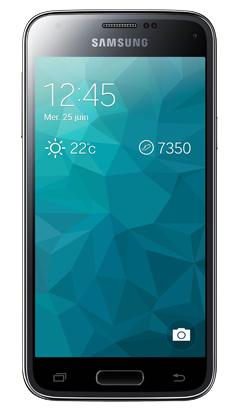 Smartphone Samsung Galaxy S5 Mini avec forfait sans engagement