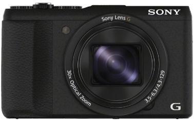 Appareil photo numérique bridge Sony DSCHX60B - 20,4 Mpix, Zoom optique 30x, Wi-Fi/HDMI/USB