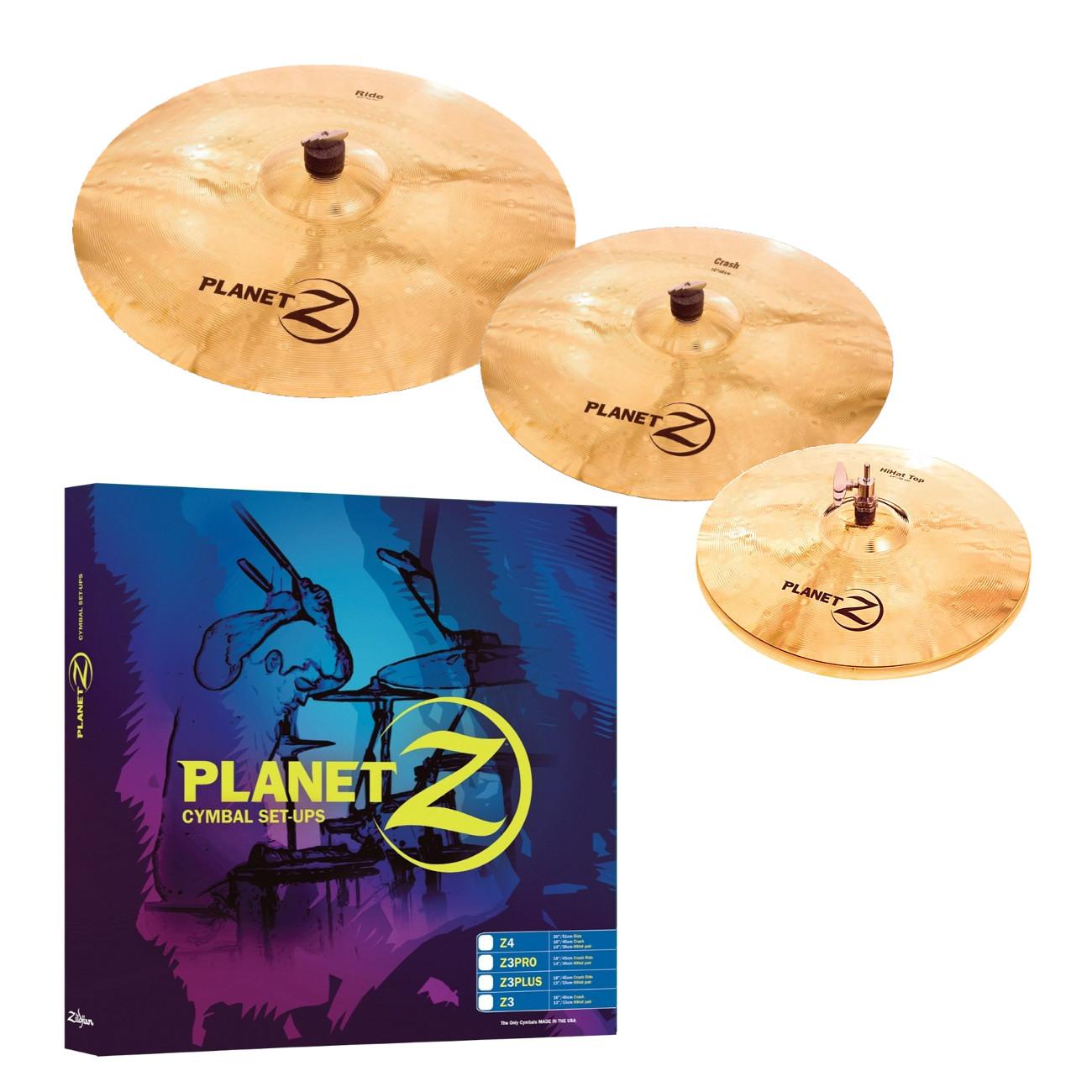 Pack de cymbale batterie Zildjian PZ4PK
