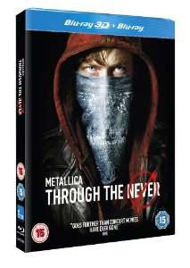Blu-Ray 3D + Blu-Ray Metallica Through the Never