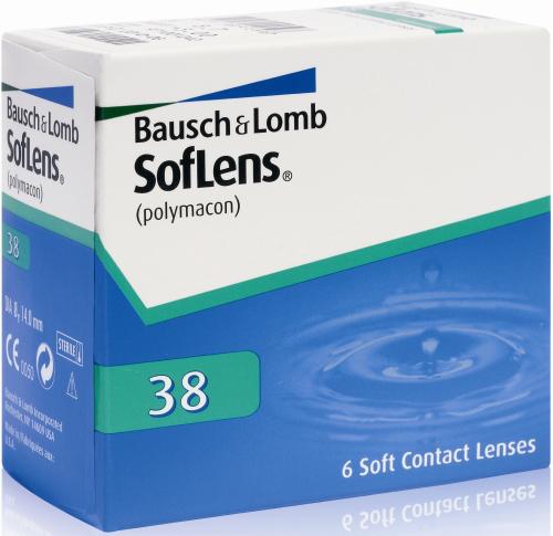 Rosedeal : Lynx-Optique Lentilles 10€ d'achat pour 2€ - Ex : 6 lentilles de contacts Soflens de Bausch & Lumb