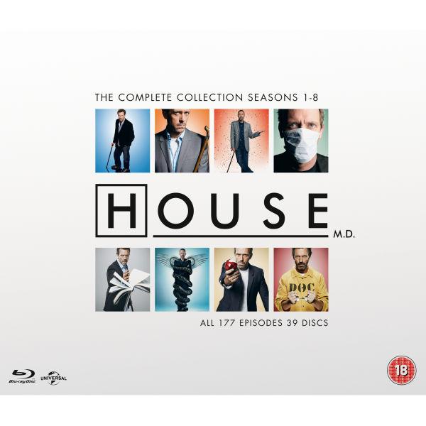 Coffret Blu-ray : Dr. House - L'intégrale de la série
