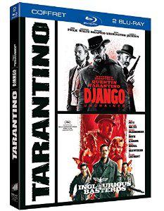 Coffret Blu-Ray Quentin Tarantino : Django Unchained + Inglourious Basterds
