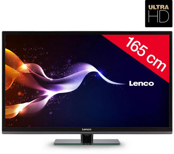 """Téléviseur 65"""" Lenco LED-6501-4K - LED Ultra HD"""