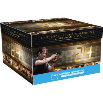 [Offre Adhérents] Coffret DVD Intégrale 24 Heures Chrono - Saisons 1 à 9 (+ 30€ de bon d'achat)