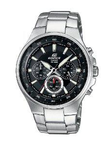Montre Homme Casio Edifice EF-562D-1AVEF - Bracelet Acier Argent
