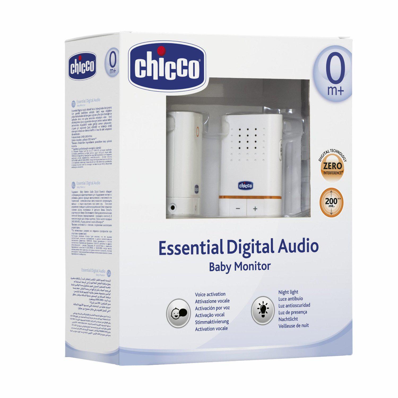 Écoute-bébé Audio Digital Chicco + 3 Accessoires sécurités (avec ODR 50%)