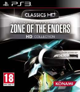 Zone of the Enders HD Collection sur PS3