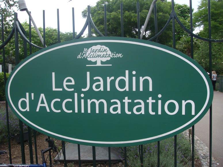 """Entrée gratuite au parc """"Le jardin d'acclimatation""""  au lieu de 3€"""