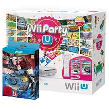 Console Wii U 8GB + Wi Party U + Nintendo Land + Wii Remote Plus Controller + Bayonetta 2 Inc Bayonetta 1