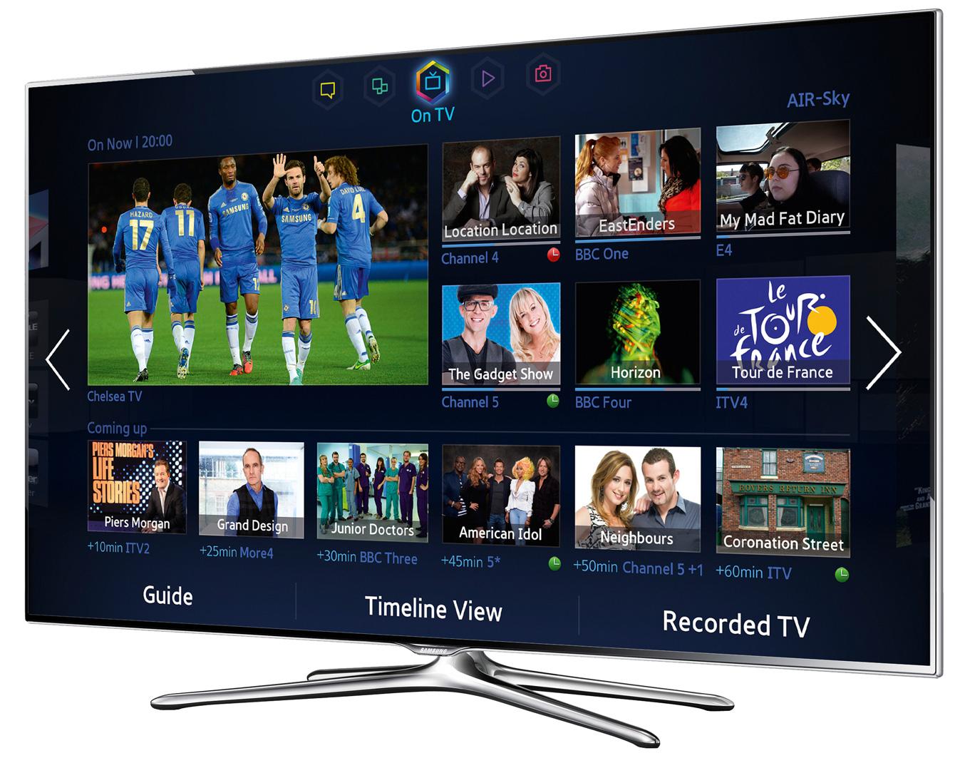 "Téléviseur 55"" Samsung UE55F6500 Full HD 3D (+ 362€ en Euros Cora)"