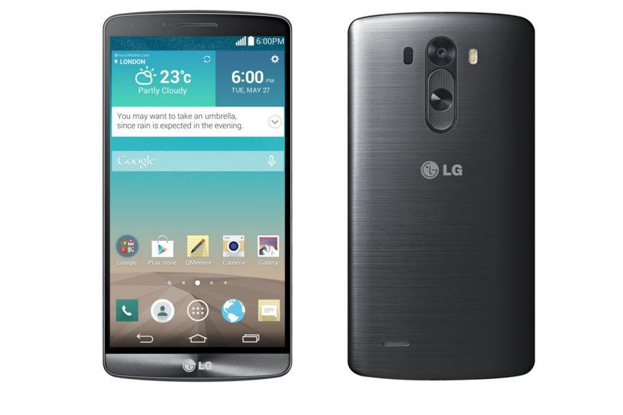 "Smartphone 5,5"" LG G3 16 Go Noir métallisé"