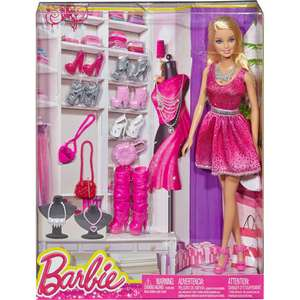 Barbie Collection de chaussures Mattel