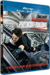 Mission Impossible - Le protocole fantome [Triple Play : Blu-ray + DVD + Copie Digitale]
