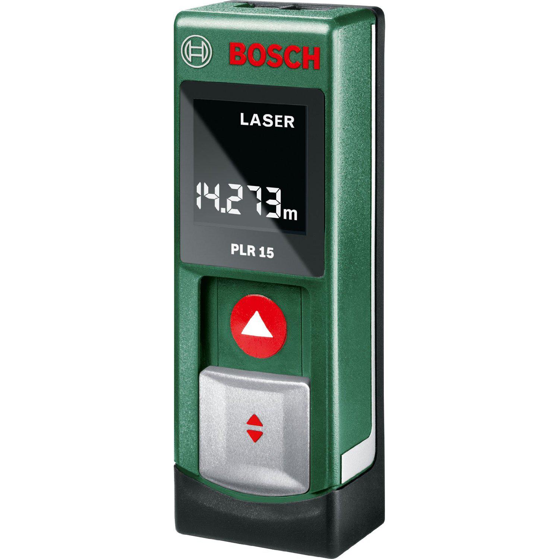 Mètre laser PLR 15 Bosch portée  jusqu'à 15 mètres