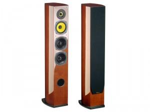 Paire d'enceintes colonne Davis Acoustics Sisley - 200 W - Bois verni