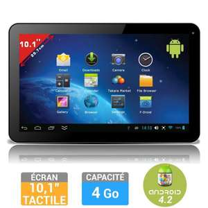 "Tablette tactile Takara 101 - Ecran 10"", Dualcore, RAM 1Go"
