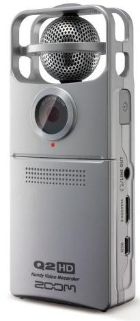 Enregistreur audio et vidéo Zoom Q2HD Portable HD / livraison gratuite