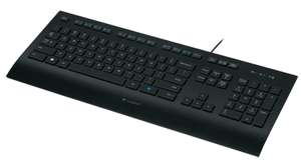clavier filaire Logitech K280e (résistant aux éclaboussures)