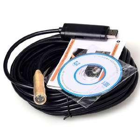 Caméra USB endoscopique étanche LED 10m