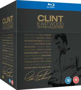Coffret Blu-ray Clint Eastwood Collection (20 films)