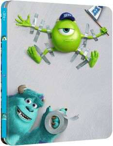 Steelbook Blu-ray Monstres Academy édition limitée VO/VF