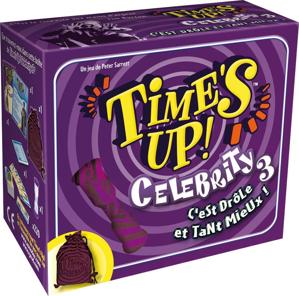 4 jeux de société  : Time's Up Violet (après ODR)