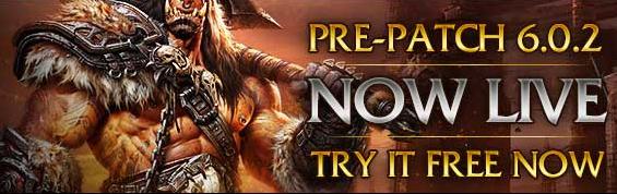 7 jours gratuits sur WOW pour tester le nouveau patch