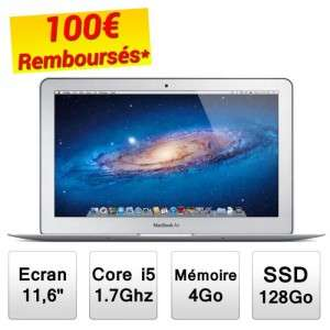 "Apple Macbook Air 11"" 64 Go (Avec ODR -100€)"