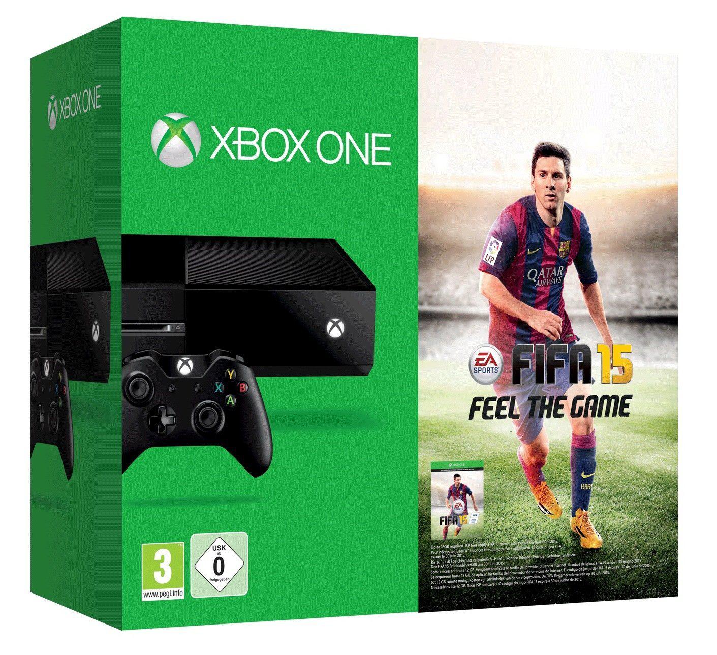 100€ de remise sur la Xbox One pour la reprise d'une PS3, d'une Xbox 360 ou d'une Wii, soit le pack Xbox One + Fifa 15