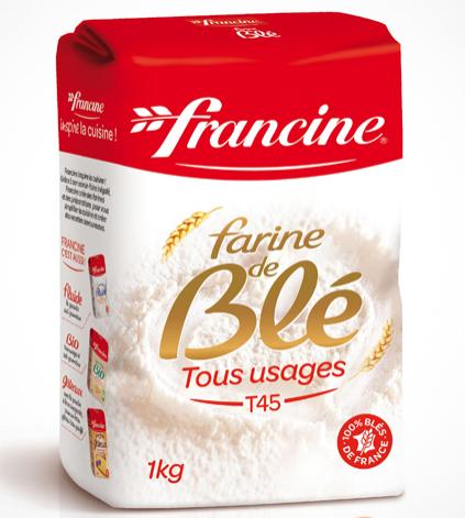 Farine Francine 100% remboursée (via Fidmarques)