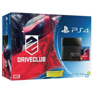 Console Sony PS4 500Go + DriveClub + FIFA 15