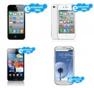 Produits reconditionnés : iPhone 4S à 479.80€, Samsung Galaxy S2 à 349.80€ et S3