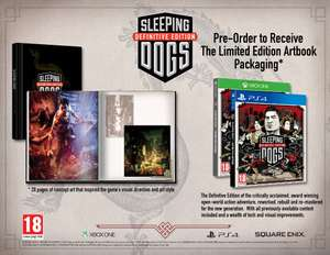 Sleeping Dogs Definitive Edition Day One PS4 / XBox One