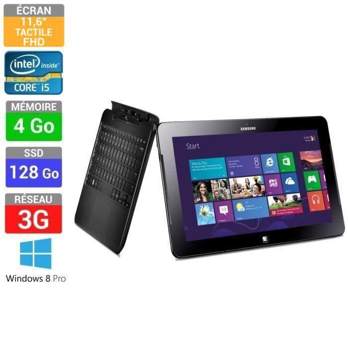 "Ultrabook Hybride 11,6"" Samsung ATIV Smart PC 700T1C-G01FR"