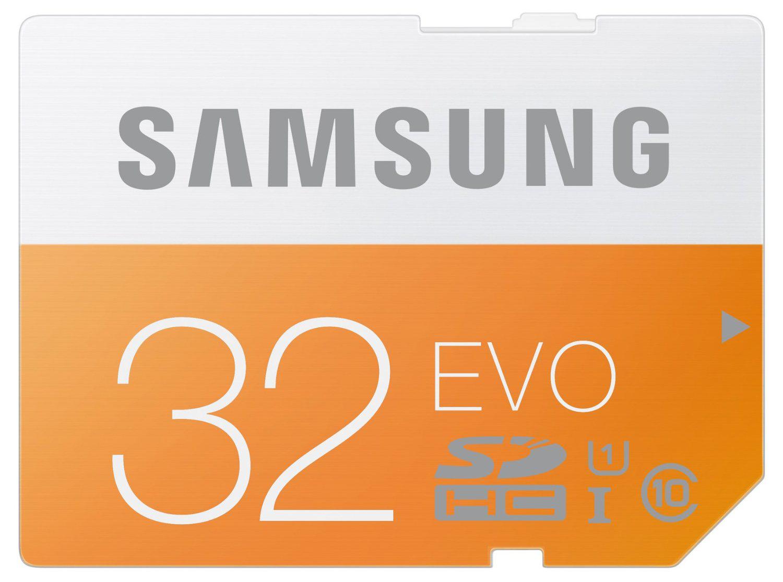 Carte mémoire SDHC Samsung Evo 32Go Class 10