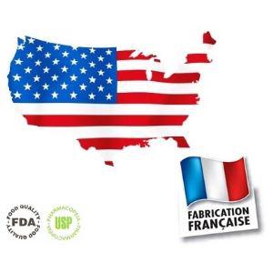 E-Liquide 100% Français 10ml Tabac USA 12mg